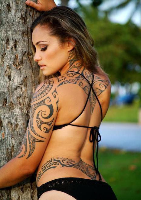 Egyptian Tribal Tattoo