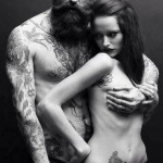 Beard Couple tattoo