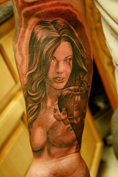 Bible Eve Chicano tattoo