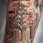 Big Apple City Chicano tattoo
