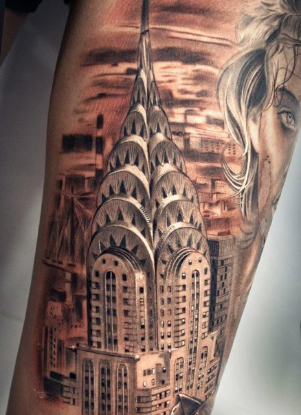 Big Apple City Chicano tattoo