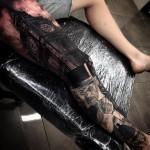Big Ben Gentleman Realistic tattoo by Drew Apicture