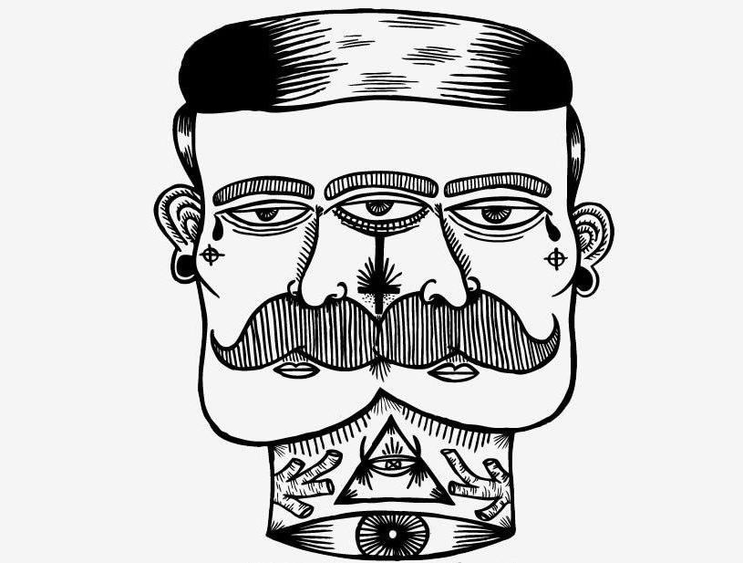 BrainChild sketch tattoo