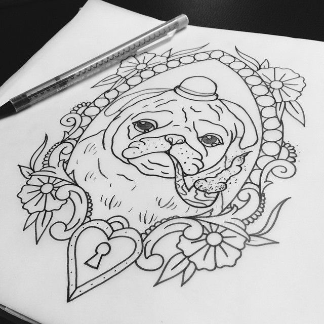 British Bulldog Tattoo Sketch Best Tattoo Ideas Gallery