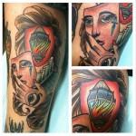 Burn Inside Lantern tattoo by Last Angels Tattoo