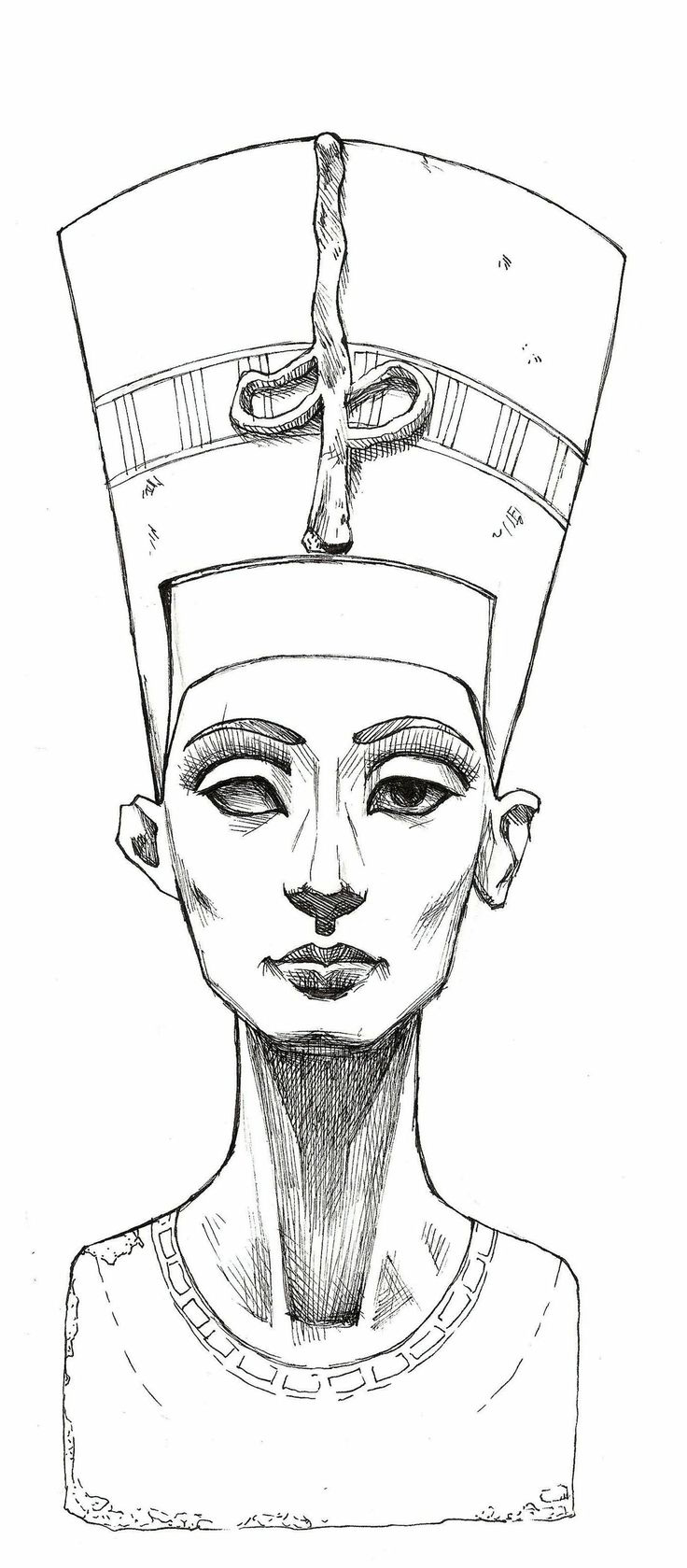 Cleopatra tattoo sketch | Best Tattoo Ideas Gallery