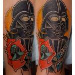 Devine Vader Star Wars tattoo by Last Angels Tattoo