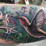 Eating Colibri tattoo