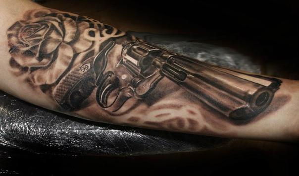 Empty Barrel Chicano tattoo
