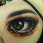 Eye Reflection Realistic tattoo by Johnny Smith Art