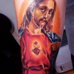 Faith Comes from Heart Religious tattoo