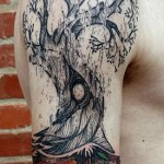 Fertile Oak Graphic tattoo idea