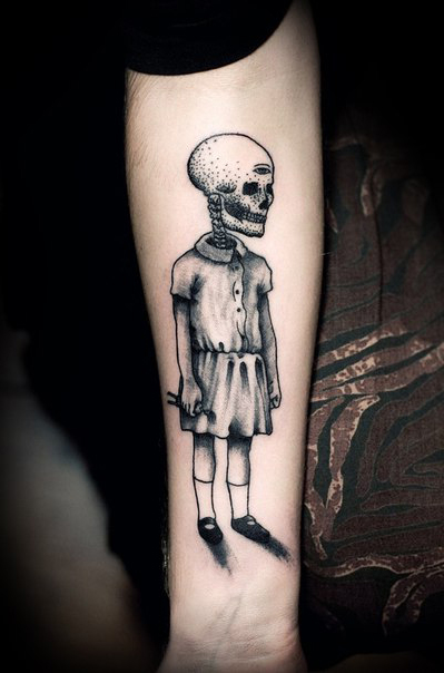 Freaky Girl Graphic tattoo idea