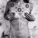 Full Body Dotwork Blackwork Texture tattoo by Corey Divine