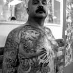 Full Body Mash Up Chicano tattoo