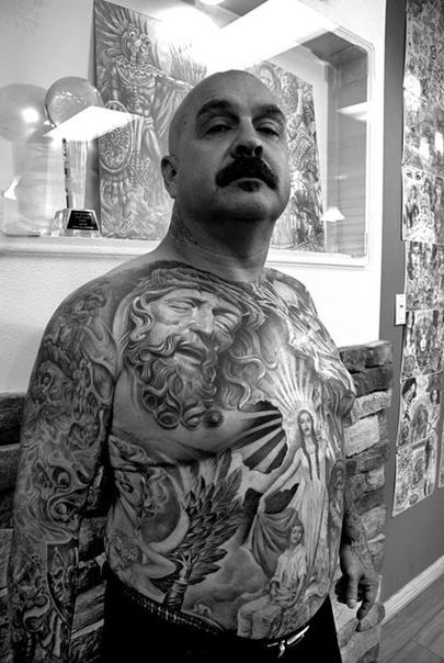 Full Body Mash Up Chicano tattoo
