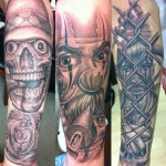 Gangster Chicano tattoo
