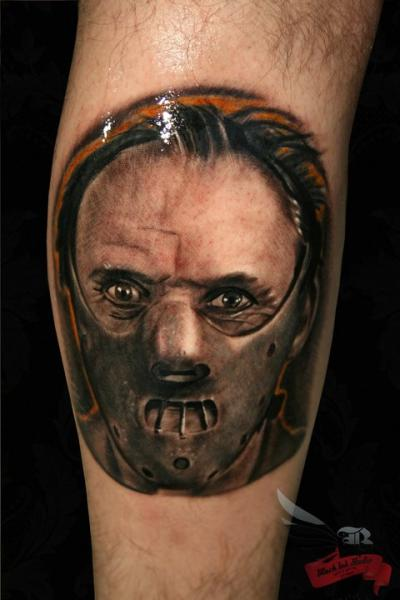 Ganibal Realistic tattoo by Black Ink Studio