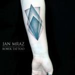 Geometry Dotwork tattoo by Jan Mràz