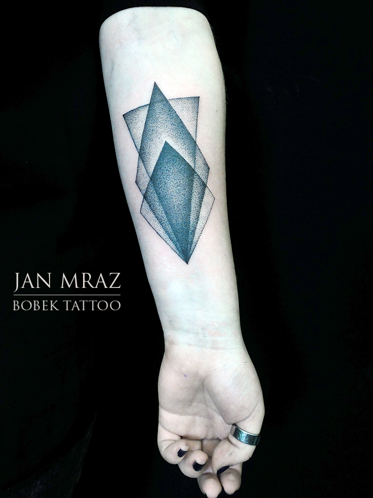 Geometry Dotwork tattoo by Jan Mràz