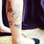Geometry Stuff Graphic tattoo idea