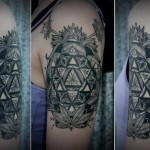 Great Mandala Graphic tattoo idea