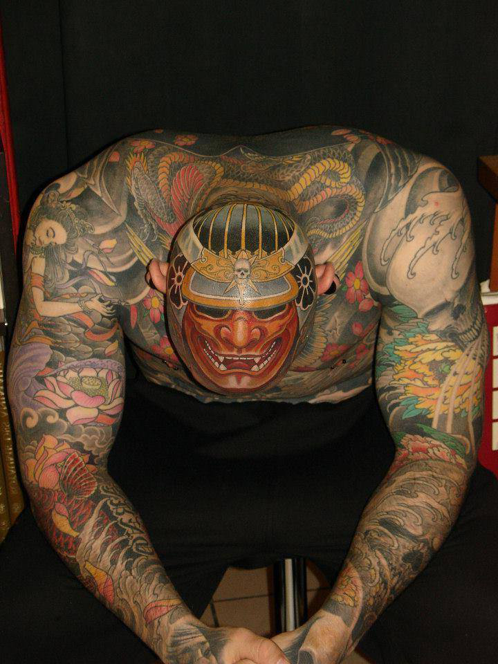 hannya japanese head tattoo design best tattoo ideas gallery. Black Bedroom Furniture Sets. Home Design Ideas
