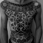 Inca Whole Body Tracery Tribal tattoo