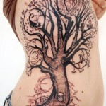 It's My Life Tree Graphic tattoo idea
