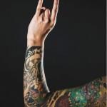 Japanese Demon tattoo sleeve