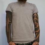 Little White Blackwork tattoo Sleeves