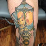 Mouse Lantern New School tattoo Anthony Ortega