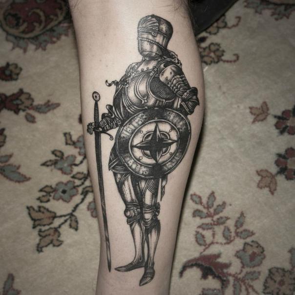 Nobel Knight Graphic tattoo idea