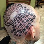 Optical Trap Head tattoo