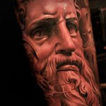 Poseidon Chicano tattoo