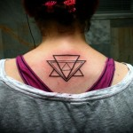 Several Line Triangles tattoo by Mad-art Tattoo