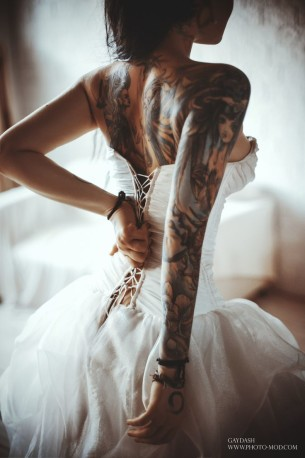 Super bride Tattoo