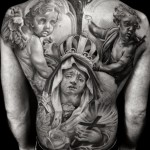 Tears of World Pain Chicano tattoo