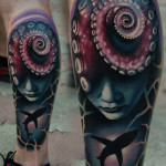 Underworld Tentackle tattoo by AD Pancho