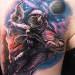 Watch World Dies tattoo by Johnny Smith Art