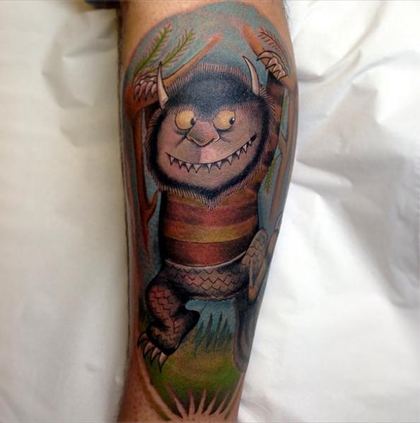 Weird Monster tattoo by Marked For Life