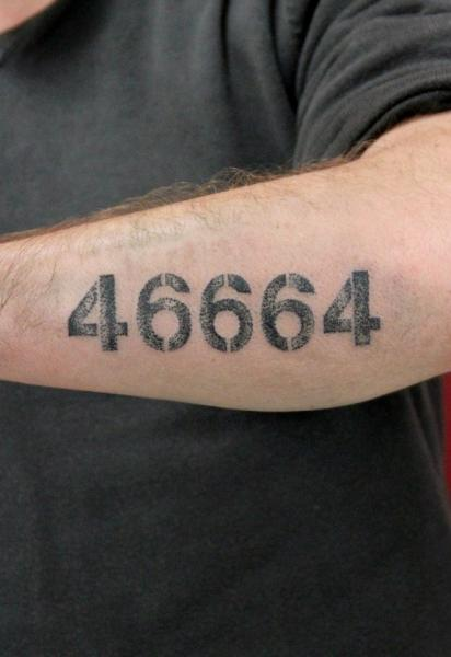 46664 lettering tattoo by skin deep art best tattoo for How deep is a tattoo