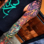 Amazing Colorful tattoo sleeve
