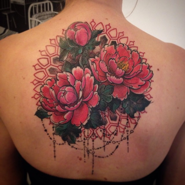 Barroque Elements Flowers tattoo by Aygul Bayanova