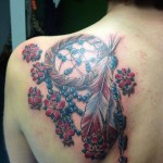 Beads Dream Catcher tattoo on Blade by Tantrix Body Art