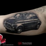 Beetle Car tattoo by Piranha Tattoo Supplies