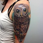 Big Eyes on Brunch tattoo by Tantrix Body Art