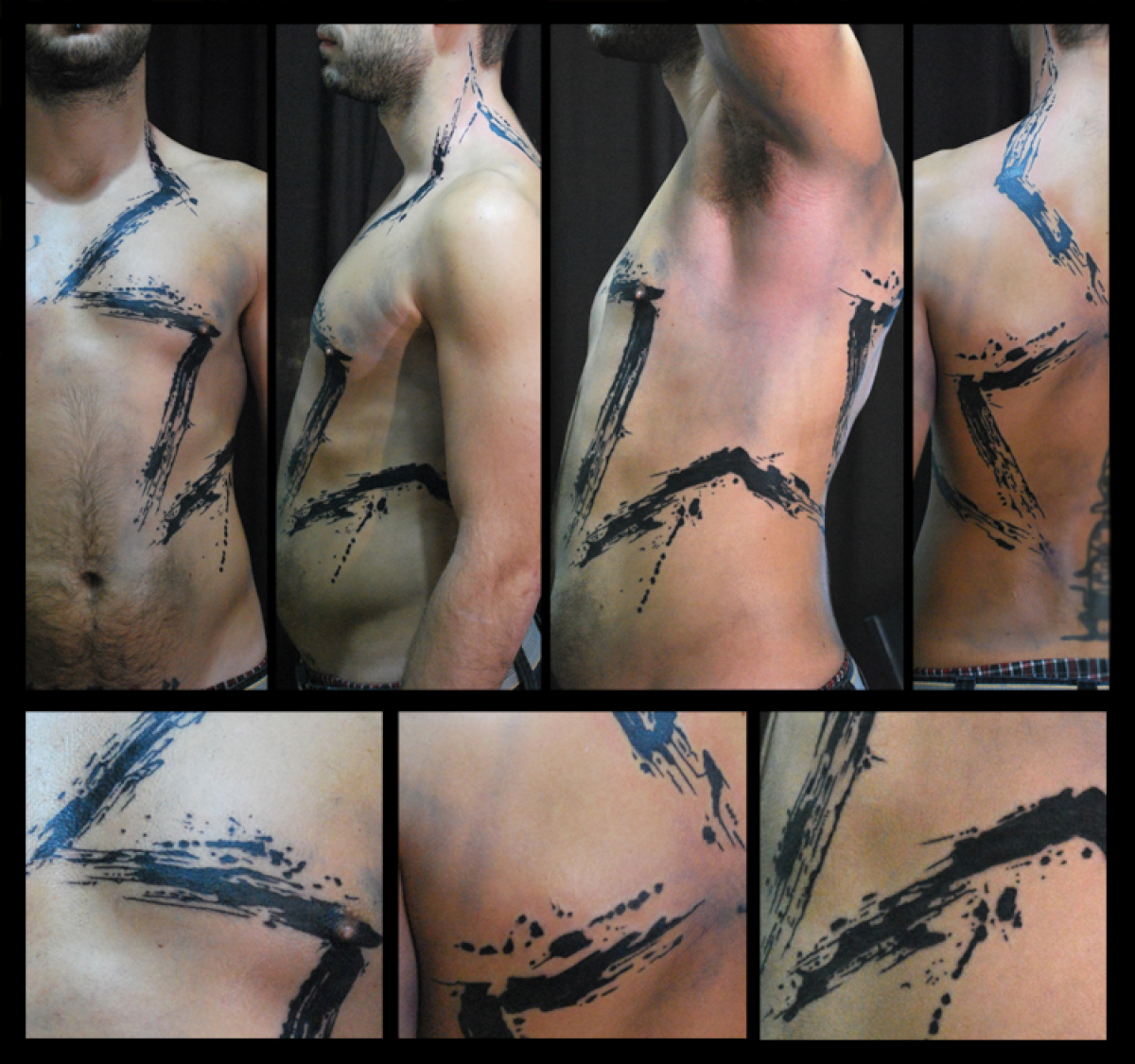 Body Black Star tattoo by Live Two
