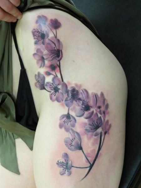 Brunch in Bloom Realistic tattoo by Bloodlines Gallery