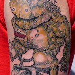 Crush Stone Giant tattoo by Three Kings Tattoo